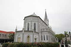 Chijmes historical architecture Singapore stock images