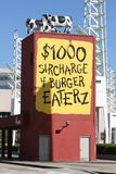 Chik Fil A reklama w Atlanta, dziąsła Obraz Royalty Free