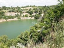 Chikalovsky career. Clean water and beautiful nature Royalty Free Stock Image
