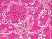 Chikan Embroidery Royalty Free Stock Images