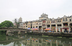 Chikan, Kaiping, China royalty free stock photos