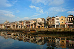 Chikan Town, Kaiping, China. Street in Chikan Town, Kaiping, China stock photography