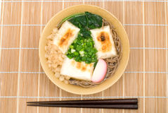 Chikara soba noodles Stock Photo