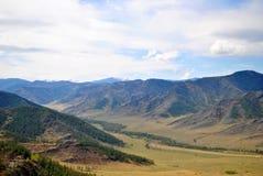 Chike-Taman στα βουνά Altai Στοκ Εικόνες