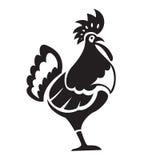 黑色chiken 免版税库存照片