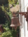 Chiken bell. At the house entry Stock Photography