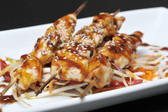 chiken kabab 库存照片