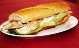 Chiken kanapka Fotografia Stock