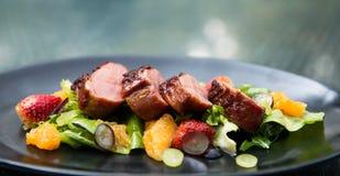 Chiken Salat Stockfoto