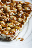 Chikki is a traditional ready-to-eat Indian sweet Royalty Free Stock Photo