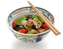 Chikuzenni, japanese nimono cuisine Royalty Free Stock Image
