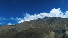 Chilas-Berge nahe Babusar-Spitze Lizenzfreie Stockfotografie