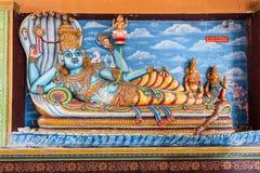Munneswaram temple, Sri Lanka. CHILAW, SRI LANKA - FEBRUARY 09, 2017: Munneswaram temple is an important regional Hindu temple complex in Sri Lanka stock photos