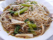 Chilcken noodle. Have a chiclken , vegetable Stock Photo