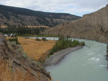 Chilcotin River, Farwell Canyon Royalty Free Stock Photos
