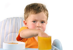 The child. Is hungry again Royalty Free Stock Image