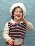 Child. Happy child at christmas eve Stock Image