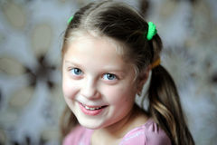 Child. An image of a happy cute little girl stock images
