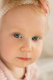 Child. Kid close-up. portrait of baby girl Royalty Free Stock Photos