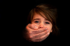 Child abduction - Concept Photo Royalty Free Stock Photo