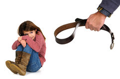 Child abuse Royalty Free Stock Photos