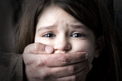 Child abuse Stock Photo