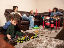 Child and adults Stock Image
