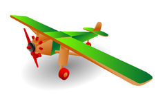 Child airplane Royalty Free Stock Images