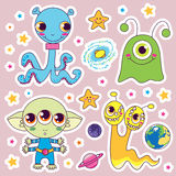 Child Alien Monsters Stock Photography