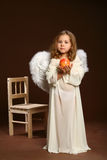 The child-angel Stock Image