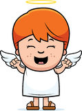Child Angel Excited Royalty Free Stock Photos