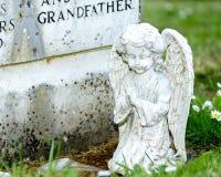 Child Angel Statue Stock Photos
