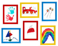 Child art Royalty Free Stock Photo