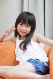 Child asia girl. Stock Images