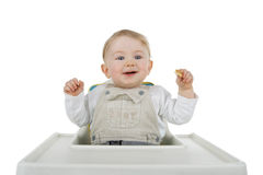 Child At Food. Royalty Free Stock Image