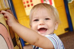 Child Baby at a Playground Stock Photography