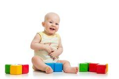 Child baby playing Stock Photo
