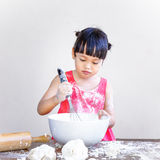 Child bakery Royalty Free Stock Photography