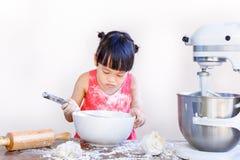 Child bakery Stock Photography