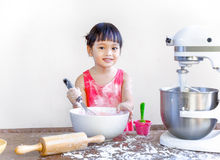 Child bakery Royalty Free Stock Photography