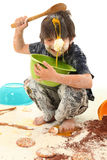Child Baking Royalty Free Stock Photos