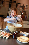 Child baking Stock Images