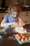 Child baking Stock Photos