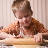 Child baking Royalty Free Stock Photos