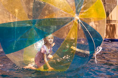 Child in the ball Stock Image