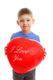 Child with ballon Stock Photography