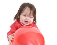 Child with balloons 3 Royalty Free Stock Photos
