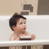 Child in bath Royalty Free Stock Photos
