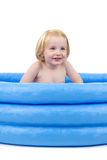 Child bath Royalty Free Stock Photo