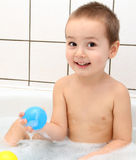 Child in bath Stock Photos
